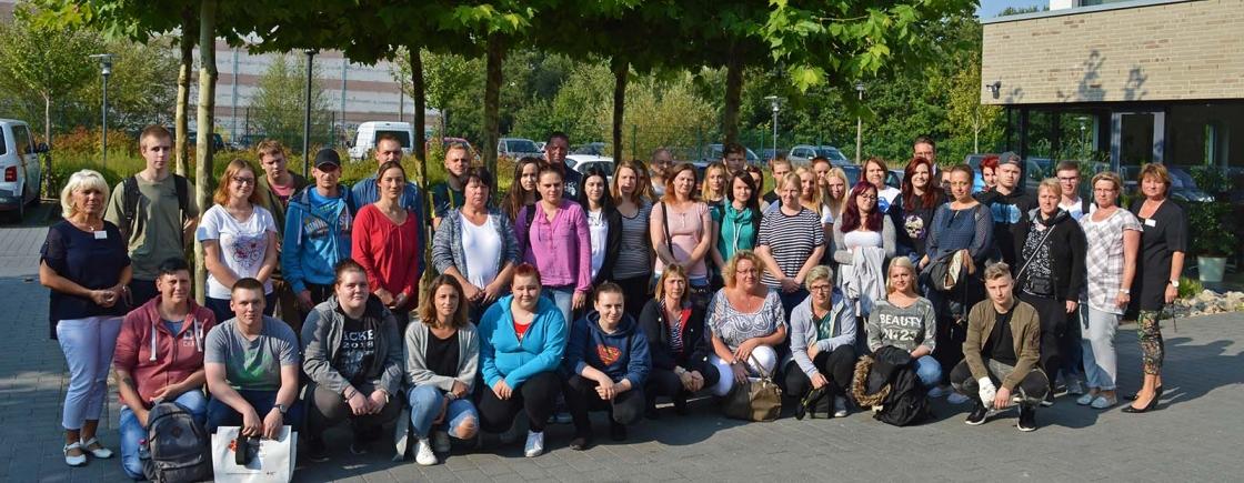 Ausbildungsstart für 54 neue Schüler
