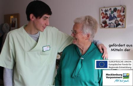 Netzwerk für Alleinerziehende und pflegende Angehörige in Unternehmen der Pflegebranche in Vorpommern