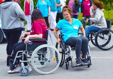 Rollstuhlführerschein bestanden